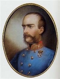 portrait franz josef i by auguste christian fleischmann