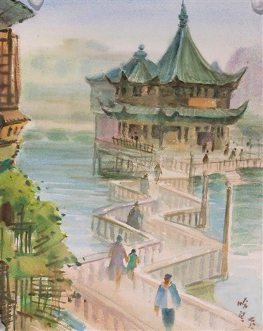 jiuqu bridge by ha ding