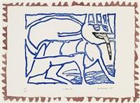 le chien roi by pierre alechinsky