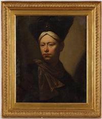 giovane con berrettone by salomone adler