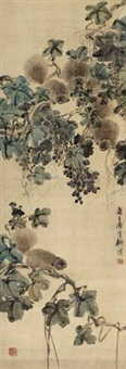 花鸟 (flowers and birds) by liu bin