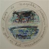 foar de moejelike jaeren de geit en het verreken spaeren by charles eyck