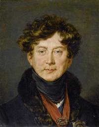nach einem portrait von sir thomas lawrence. george iv., könig von grossbritannien, irland und hannover by alexander macco