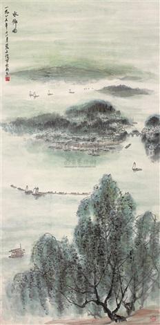 landscape by zhang wenjun