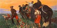 a burial scene by alexei sokolov