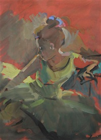 young ballerina by sherree valentine daines