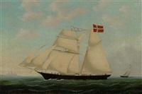 skibsportræt af