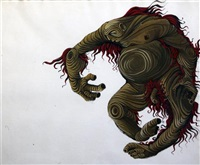 costume design for caliban by vassilis fotopoulos