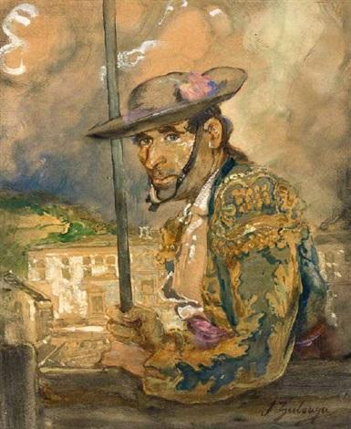 porträt des picador el coriano by ignacio zuloaga y zabaleta