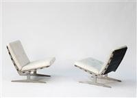zwei sessel caravelle (pair) by paul leidersdorff