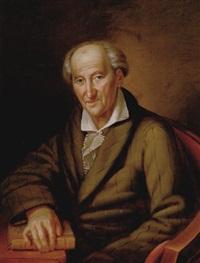 porträt eines gelehrten herren by karl gottlieb schweikart