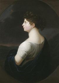 porträt der königin luise von preußen by johann heinrich schröder