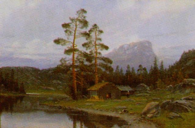 parti fra hardangerfjord by olaf nordlien