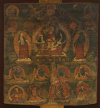 a thangka depicting ushnishavijaya by anonymous-tibetan (19)