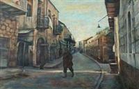 street scene by elias newman