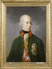 portrait joseph ii., erzherzog von österreich, kaiser des heiligen römischen reiches by johann georg ziesenis