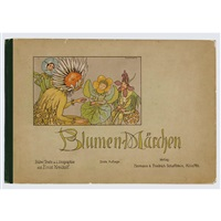 blumen-märchen (bk w/15 works, 8vo) by ernst kreidolf
