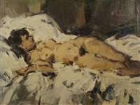 female nude by aart glansdorp