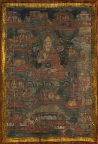 a tibetan thangka of tsongkhapa by anonymous-tibetan (19)