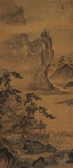 山水 (landscape) by jiang song