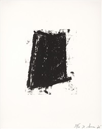 sketch 2 (sold with 163b; set of 2) by richard serra