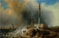 et skibbrud ved den engelske kyst by alice dermont