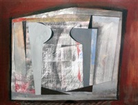 abstract (after ben nicholson) by john myatt