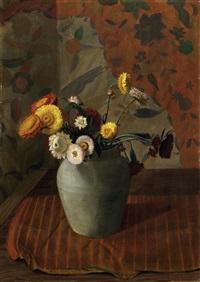 blumen in einer vase by gerald sargent foster