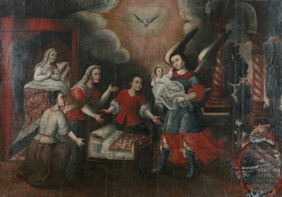 jesus bedtime by francisco xavier de cuenca