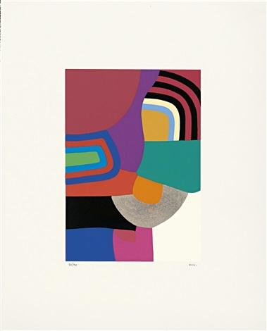 serigrafie 6 works by alberto burri