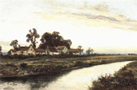 on the banks of the avon by henry walton