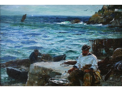the fisherman by john robertson reid