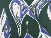 ohne titel by lee krasner