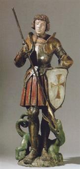 heiliger georg by hans leinberger