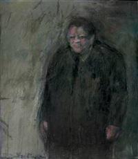 porträt franz-josef strauß by peter tomschiczek