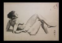chinese body drawing by xu beihong