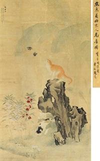 耄耋图 by jiao bingzhen