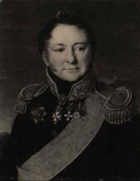 bildnis des generals paul alexandrowitsch toutchkoff by vasili andreevich tropinin