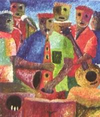 ohne titel (musikanten und sänger) by hunseul doruil