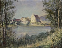 dorf am see by alfred weber