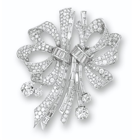 a double clip brooch by mauboussin