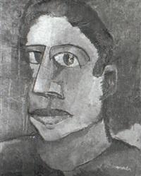 head of a man by karl metzler