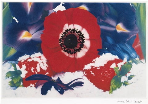 six moments of sunrise portfolio of 6 by marc quinn