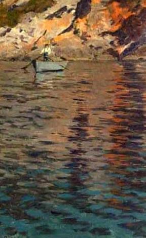 man rowing by robert nadler