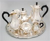 kaffee-/teeservice (model füssli) (set of 6) by jezler (co.)