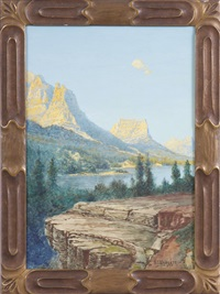 mountain landscape by h. irving marlatt