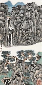 landscape by jiang hong