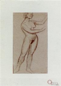 a nude by ger (gerardus petrus) langeweg