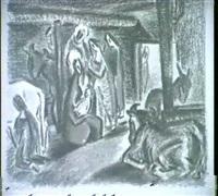 die anbetung des christuskindes by kavasik
