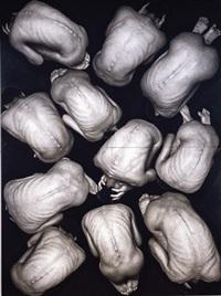 untitled (back) (quadtych) by ryuki yamamoto